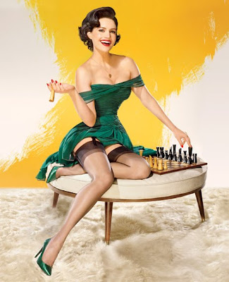 Carla Gugino vanity fair pin up