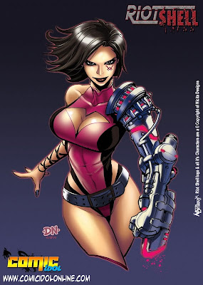 comic book girl