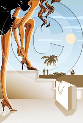 Jan Meininghaus fashion illustration