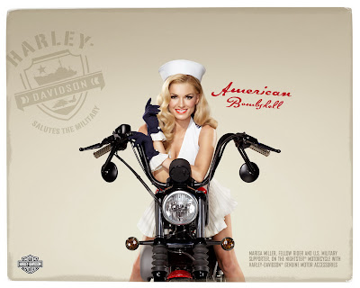 Marisa miller and harley davidson pin up style ads pin up and marissa miller and harley davidson freerunsca Images