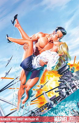 Mike Mayhew comic art