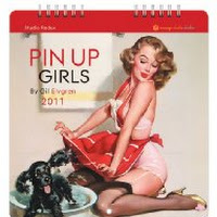 Pin Up Girls by Gil Elvgren 2011 MINI Calendar