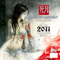 Dead Moon Epilogue 2011 Calendar By Luis Royo