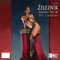 ohn Zelesnik Fantasy Pin-Up 2011 Calendar