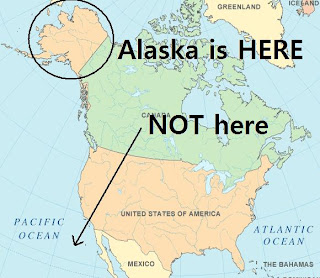 An Alaskan Girl In New Jersey FYI Alaska IS A State - Is alaska in the united states