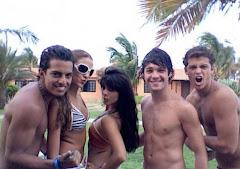 Luciano, Rosangla, Sheryl, Ricardo, y Hendrick