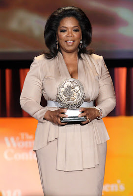 Oprah Winfrey Lovely With A Victoria Beckham Style