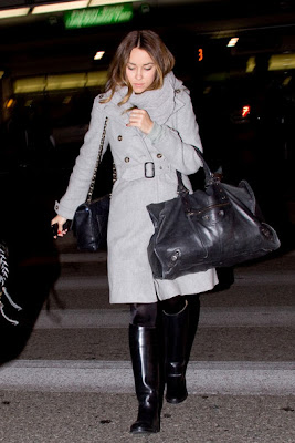 Lauren Conrad Warm With A Dove Gray Wool Coat