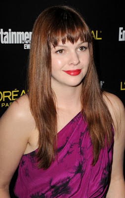 Amber Tamblyn Looks Elegant In One Shoulder Dress