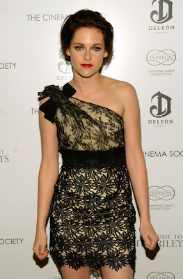 Kristen Stewart Looks Elegant In One Shoulder Dress