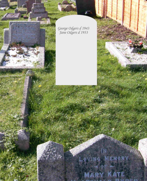 George and Jane Odgers Virtual Headstone