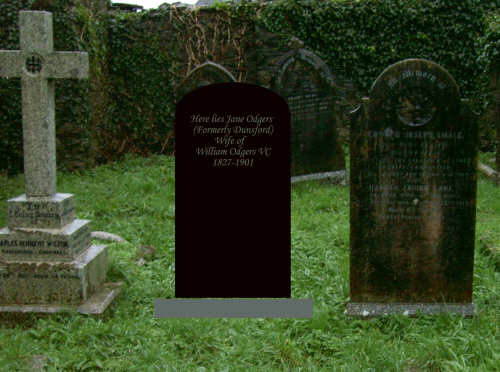 Jane Odgers' Virtual Headstone