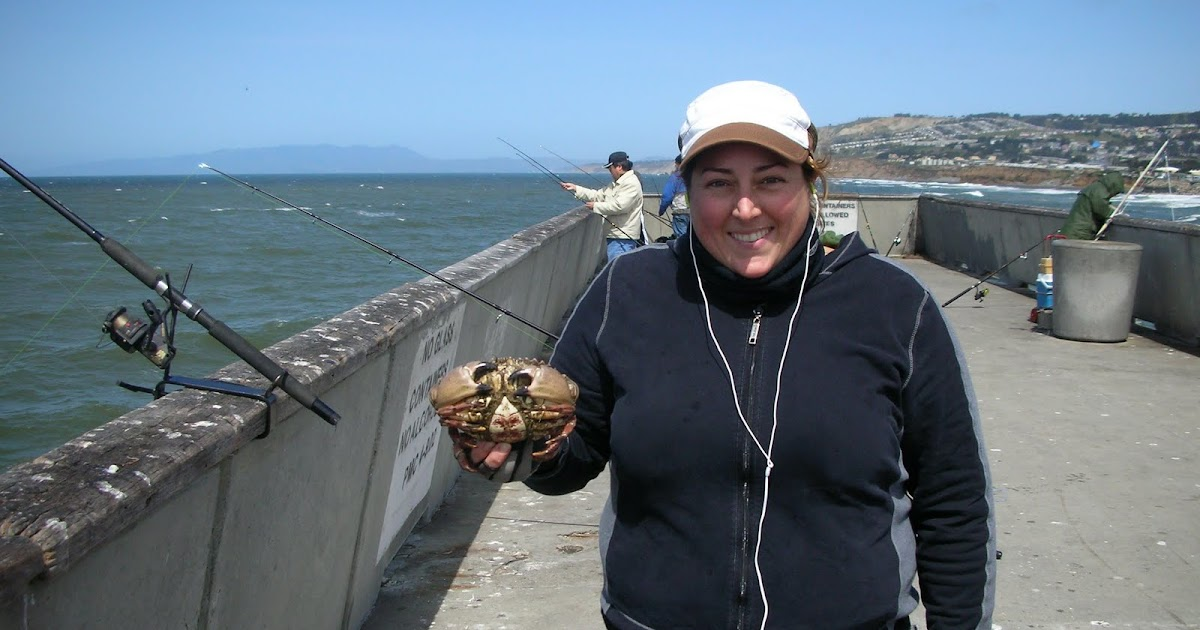 Found fruit dungeness crab fishing pacifica pier for Crab fishing game