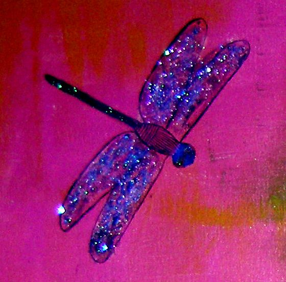 Detalle de dragonfly
