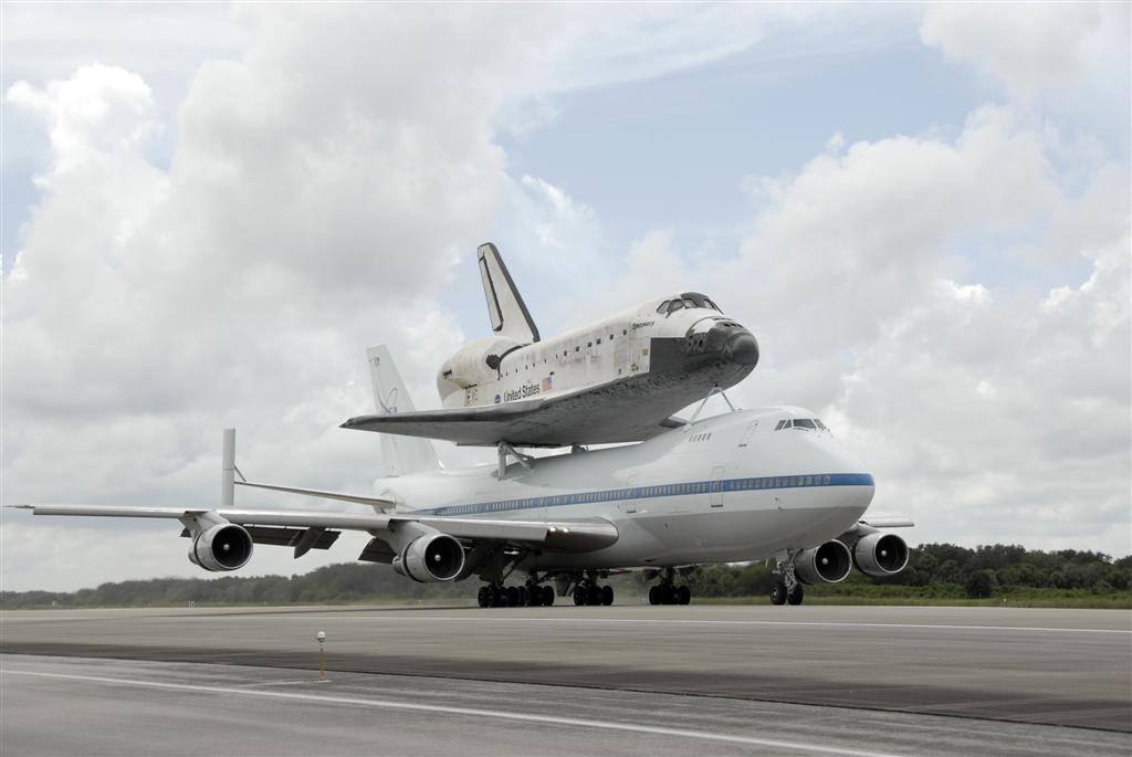 space shuttle carrier 747 american airlines - photo #27