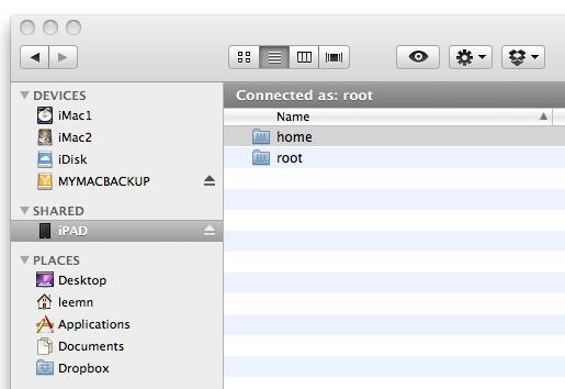 how to send ipad screen to a mac