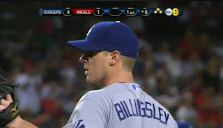 Chad Billingsley joins the BB2LB (base on balls to load bases) Club