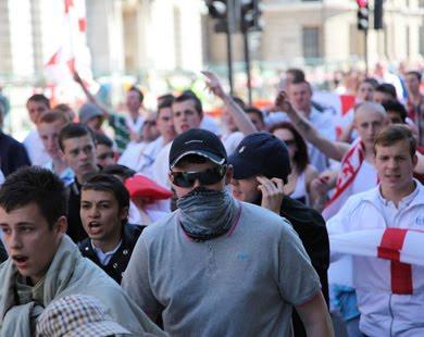 Islam Espa 209 A Manifestaci 243 N En Contra Del Islam En Londres border=