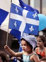 TAM - Télévision Acadienne Mondial Quebec+Flag