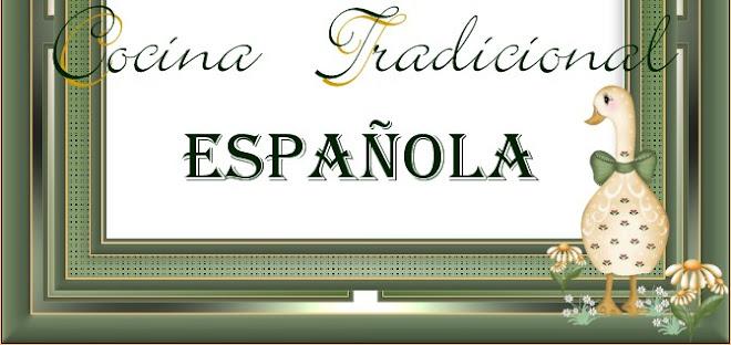 Cocina tradicional espa ola for Cocina tradicional espanola