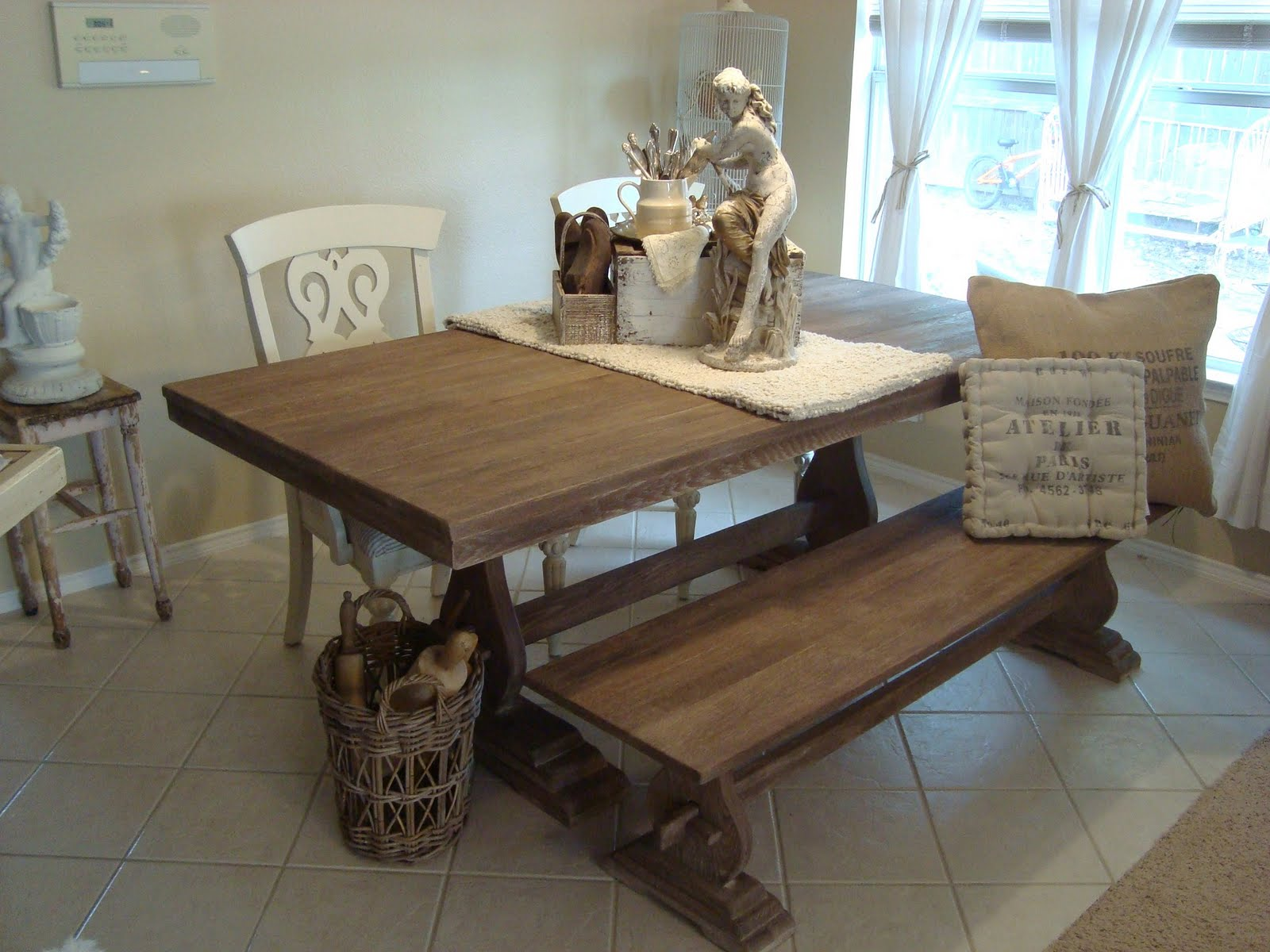 Modern Kitchen Table With Bench benches for kitchen tables - cool teenage girl rooms 2015