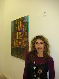 Rosa Fernandez Salanova en la galeria Alen Klass