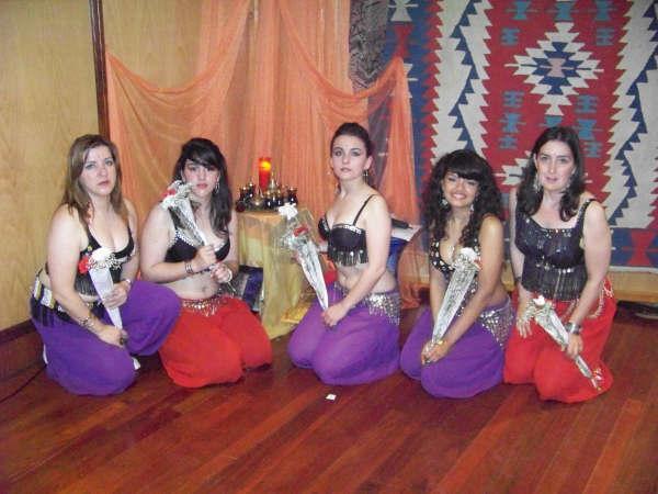 alumnas de Rosa,grupo de Pontedeume