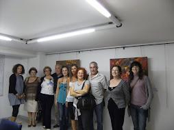 Fotos exposicion galeria Sargadelos, A Estrada (Pontevedra)