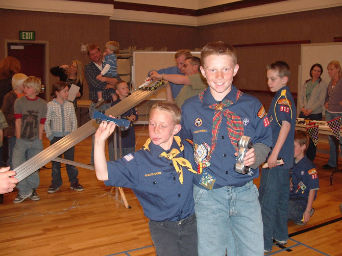 Pinewood Derby 2008