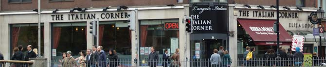 The Italian Corner....an Oasis of fine food, fine wine and quality service.....