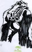 Bleach: Hollow!! A realistic quick sketch of our favorite slash'em'all .
