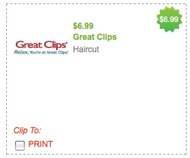 We clip coupons