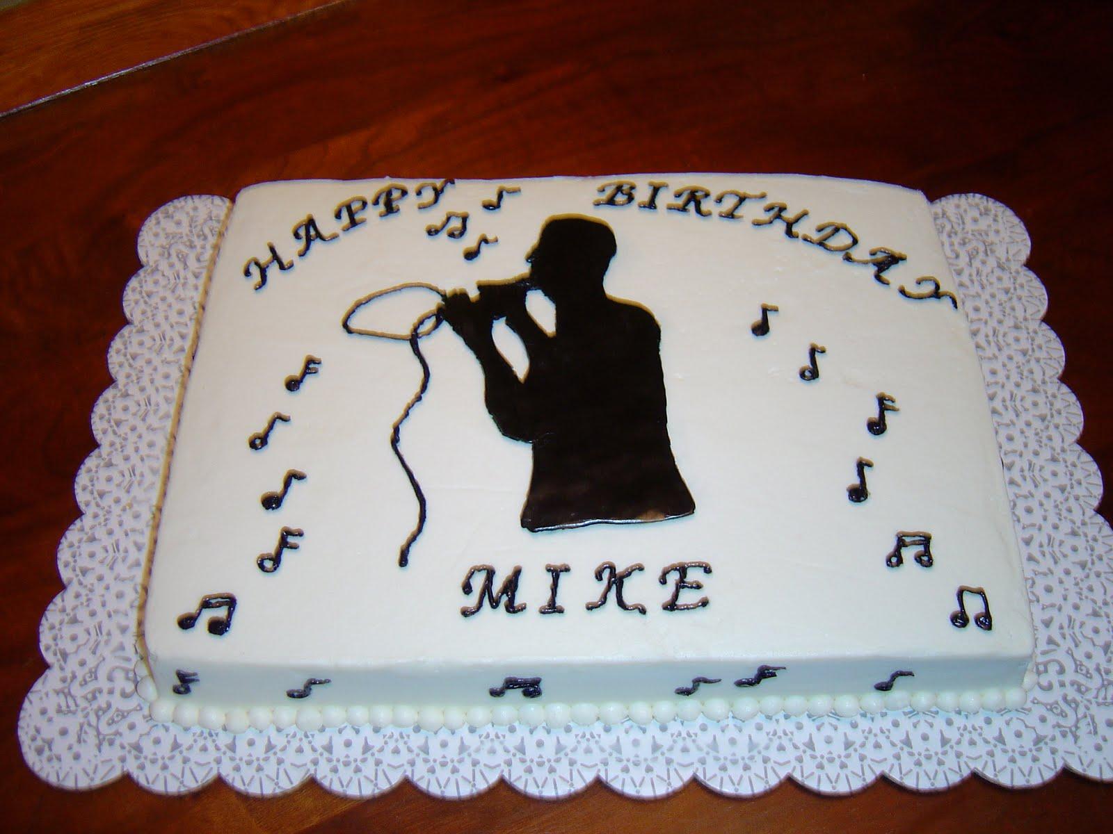 Sweet T s Cake Design: Karaoke Singer Sheetcake