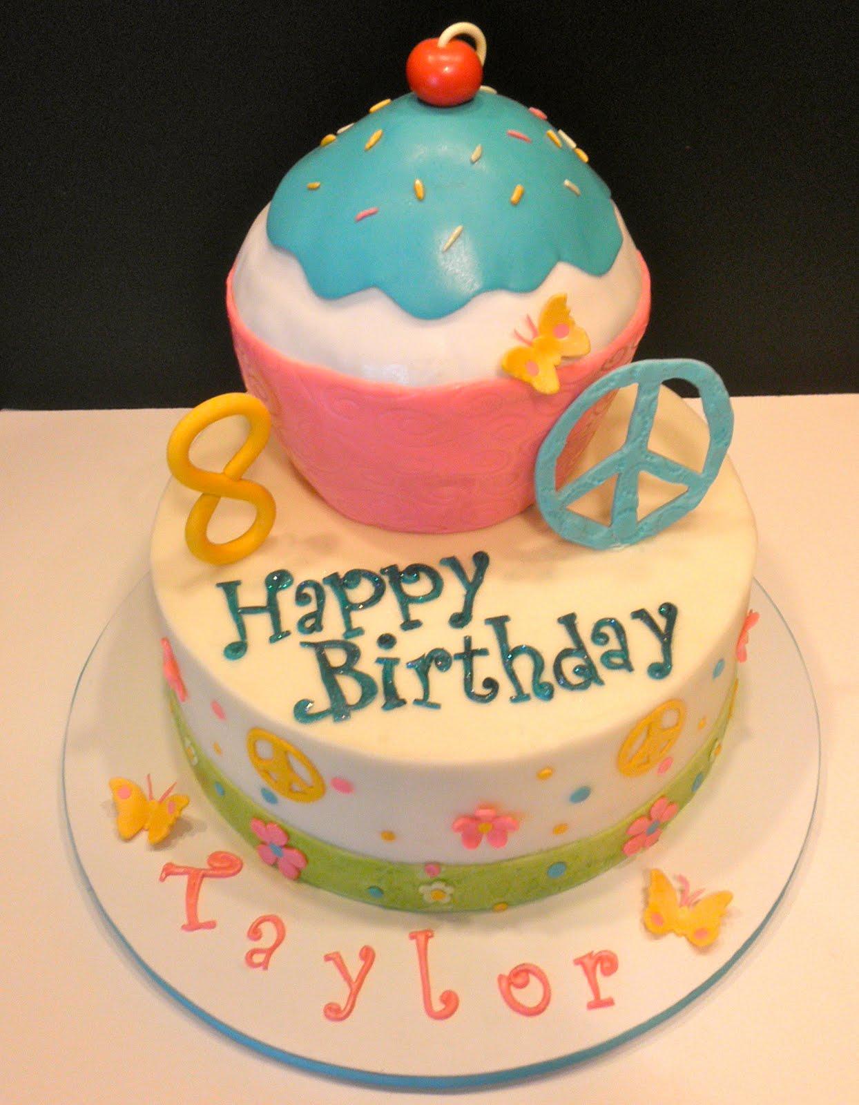 Sweet Ts Cake Design Taylors 8th Birthday Cake