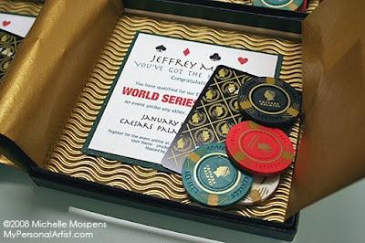 Vegas Themed Wedding on Custom Invitations Studio Blog  Las Vegas Theme Custom Invitation