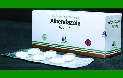 Albendazole 400 Mg Chewable Tablet
