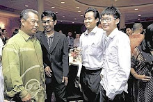 My bro with Our deputy Minister ^O^