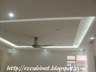 Plaster Ceiling , Fan