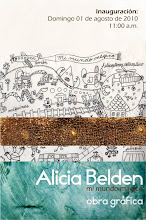 "Esposición Alicia Belden ""Mi mundo mágico"" obra gráfica"