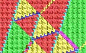 Tessellating Asymmetric Re-entrant polygons Jim Schofield