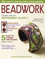 My work on BEADWORK magazine covers: