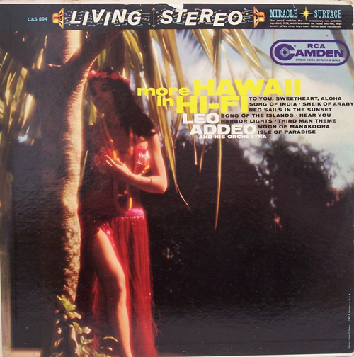 Leo Addeo And His Orchestra - Great Standards With A Hawaiian Touch
