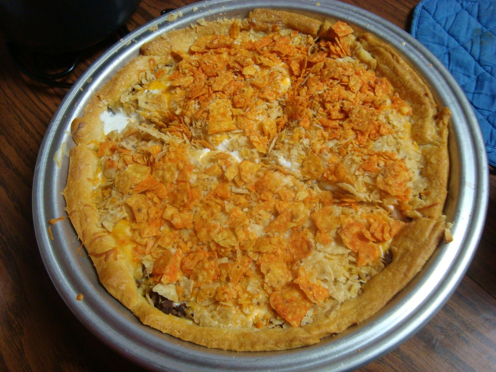 Taco Pie - Julie's Eats & Treats