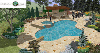 Free-Form Pool & Spa Landscape