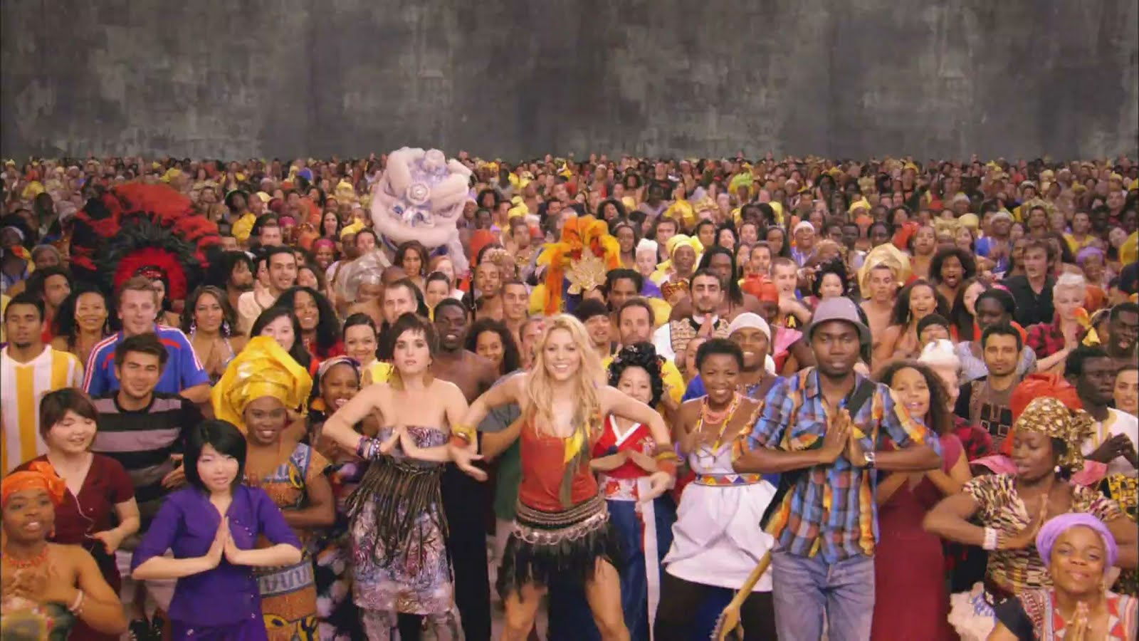 Шакира вака вака, Shakira - Waka Waka (FifaWorld Cup) - скачать 2 фотография