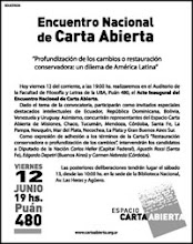 Carta Abierta