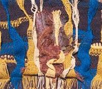 Arte textil en un tapiz