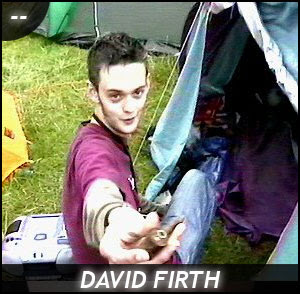 David Firth and his Pipe