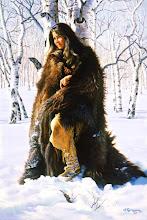 El invierno no era fácil, a menos que tuvieras una buena piel de oso