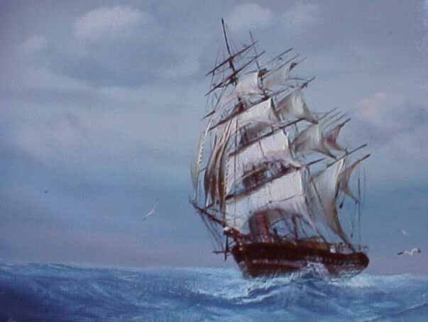 Ernie Place Sailing Ships The Ship Was Man Finest